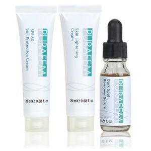 purafem skin brightening set